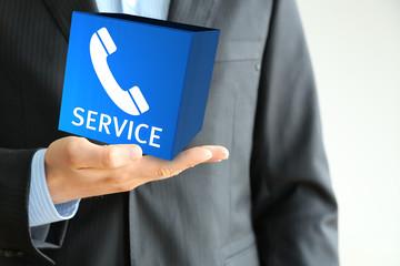 service hand