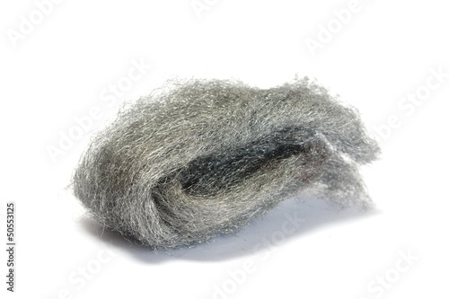 Isolated wire wool