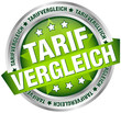 "Button Banner ""Tarifvergleich"" grün/silber"