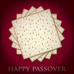 Passover card in vector format.