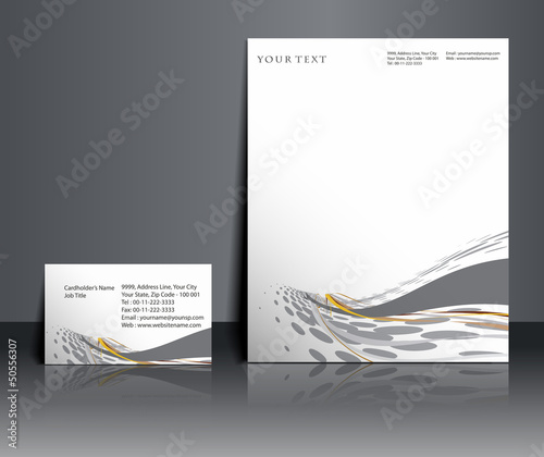 Business style templates, Vector illustration.