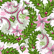 Seamless spring colorful pattern