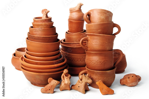 set of pots
