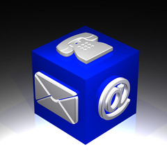 contact cube