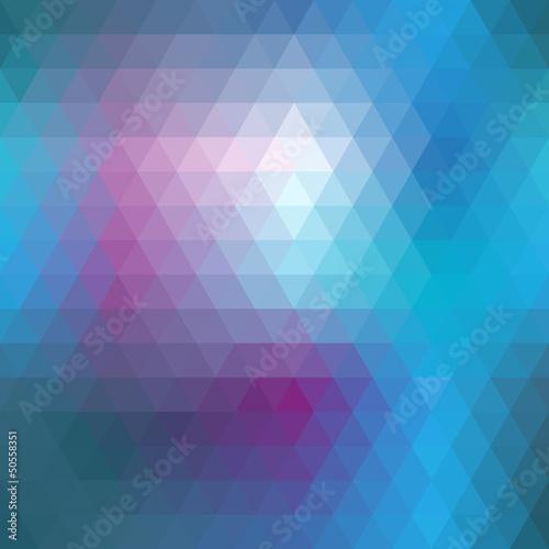 Blue mosaic seamless