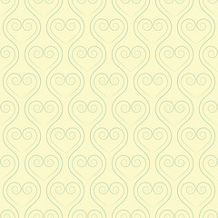 delicate seamless pattern with hearts