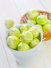 brussel cabbage