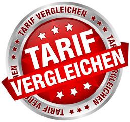 "Button Banner ""Tarif vergleichen"" rot/silber"
