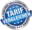 """Button Banner """"Tarif vergleichen"""" blau/silber"""