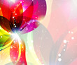Abstract flower backgrouns