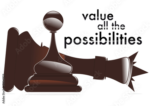 value all the possibilities