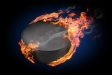 Fototapety Burning objects and objects on fire background