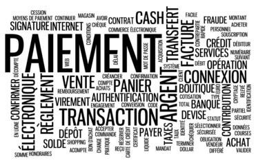 Nuage de Tags PAIEMENT (argent achat banque monnaie prix devis)