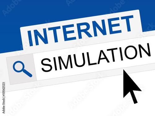 internet - simulation en ligne