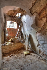 Lost places - Wohnhaus in Meißen, Ruine
