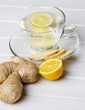 healthy ginger tea
