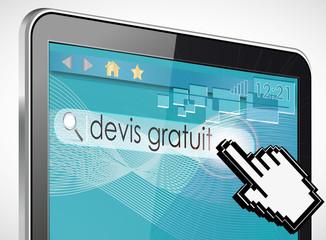 tablette tactile recherche : devis gratuit