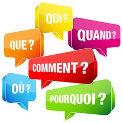 Speechbubbles Questions France Color