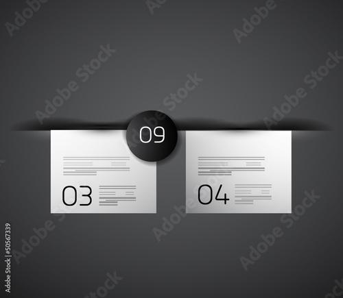 Web box shadow modern design