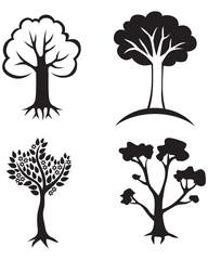 Set trees icon