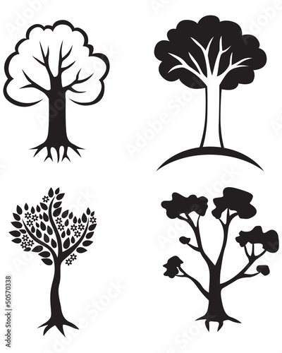 Set trees icon