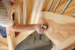 Leinwanddruck Bild - Escalier