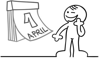 figur erster april
