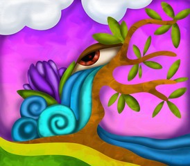albero fantasia