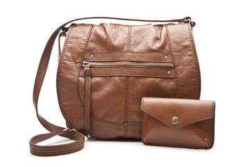 Fashion women bag and wallet
