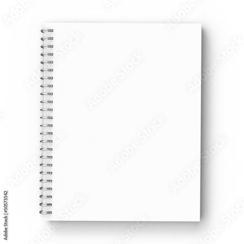 Leinwanddruck Bild notebook
