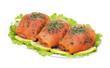 Involtini di trota salmonata - Roulades of salmon trout