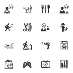 Hotel Services and Facilities Icons - Set 2