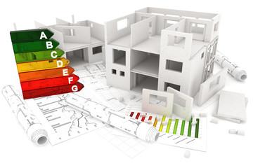 Rohbau und Pläne, Energieeffizienz