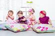 Four little girls group