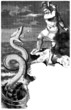 Nordic-Germanic Mythology : Thor fighting a Snake