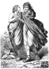 Pair - Couple - Paar (Ancient Germans)