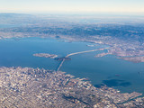 Aerial Photograph of San Francisco and The Bay Area