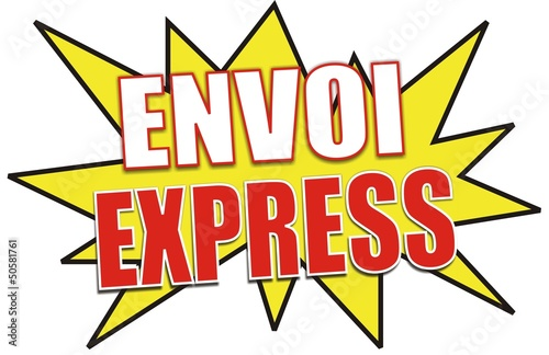 étiquette envoi express