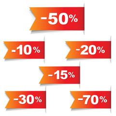 Color Discount Labels