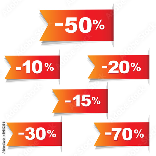 Color Discount Labels