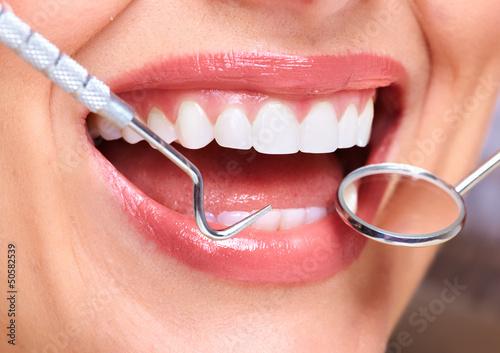 Fototapeten,lächeln,zahn,zahnärztin,gesundheit