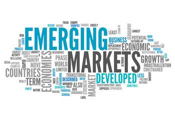 "Word Cloud ""Emerging Markets"""