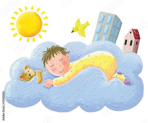 baby-schlaft-auf-wolke