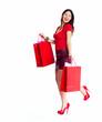 Shopping woman.