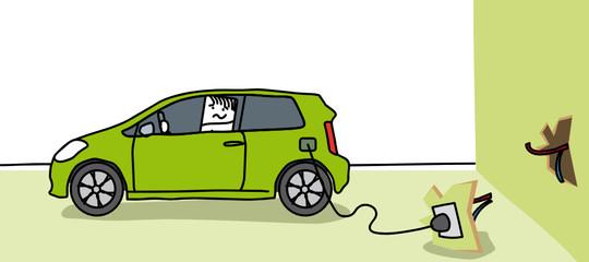 Voiture énergie verte