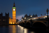 Westminster Bridge with Big Ben , London