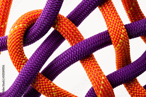 colorful rope net