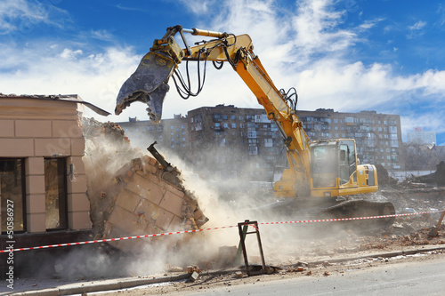 Building demolition - 50586927