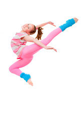 child ballet jump