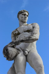 Olympic sport statue - volleyball